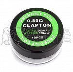 Готовый коил Clapton Kantral wire 26/32AWG 0.85ohm A349 — минифото