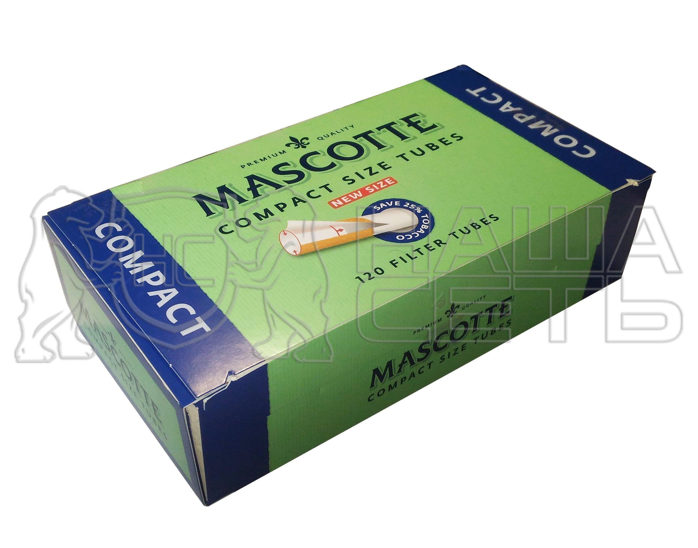 гильзы для сигарет mascotte compact купить