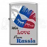 205 With Love From Russia Zippo зажигалка