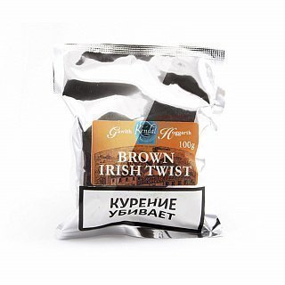 Gawith Hoggarth Brown Irish Twist 100g труб. табак — фото
