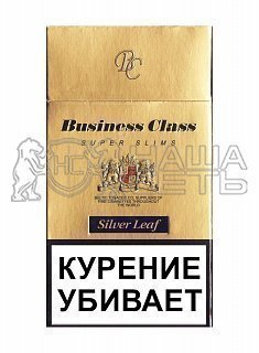 Business Class Silver Leaf Super Slims — фото