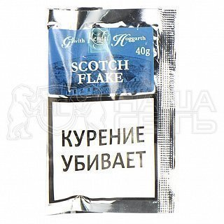 Gawith Hoggarth Scotch Flake 40g труб. табак — фото