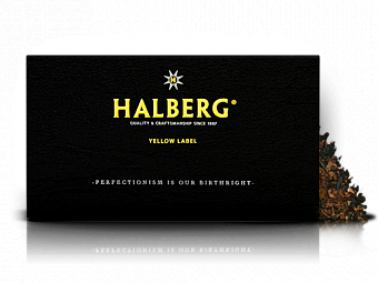 MB Halberg YELLOW Label 100g труб.табак — фото
