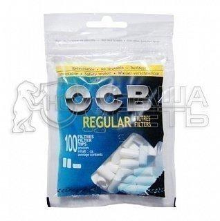 Фильтры сигаретные OCB Regular 7.5/8 мм 100