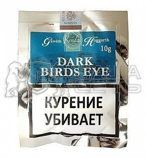 Gawith Hoggarth Dark Birds Eye 10g труб. табак — фото