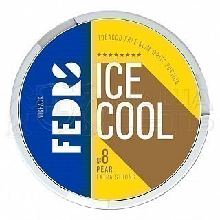 Fedrs ice cool extra strong pear 8 — фото