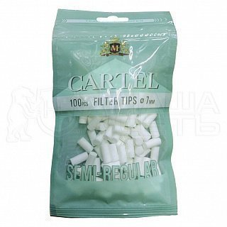 Фильтры сигаретные Cartel 7 Semi-Regular 100