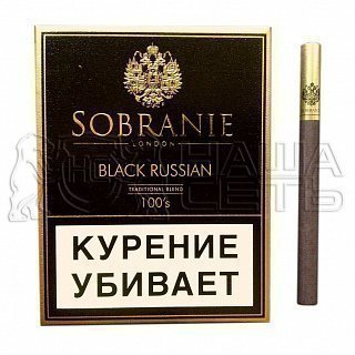 ***Sobranie Black Russion — фото